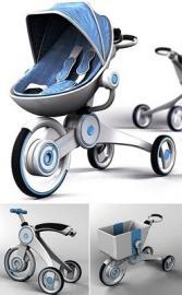 Особенности современных детских колясок