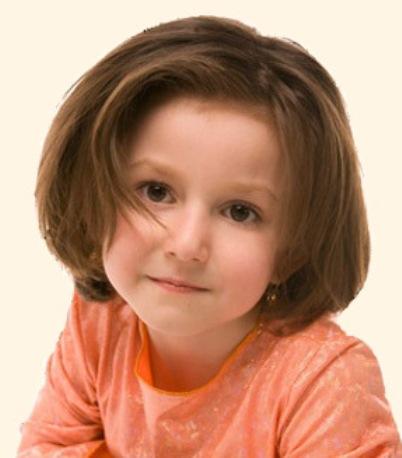 Короткие волосы. Детская прическа.