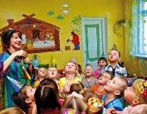 День рожденья в детском саду