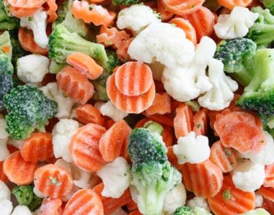 Как готовят овощные замороженные смеси