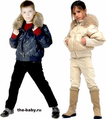 Подростковая детская одежда