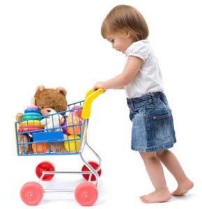Поведение ребенка в магазине