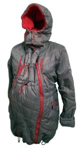 Зимняя куртка для беременных с капюшоном